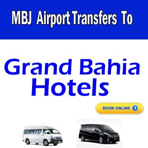 Grand Bahia airport transfers