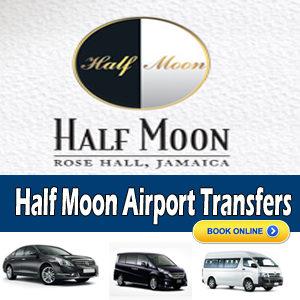 airport transportationm to half moon